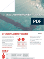 Get Speedo Fit Swimming Programme - Performer