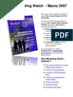 Web Marketing Watch n. 3 - Novità e Tendenze di Web Marketing by Enrico Madrigrano - Top Web Marketing and Seo Expert