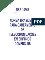 NBR 14565 Cabeamento de Telecomunicações