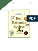 Real Bahamian Recipes