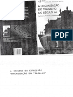57252285 a Organizacao Do Trabalho No Seculo 20 Geraldo Augusto Pinto