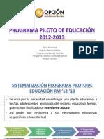 Programa de Educación 2013-2014