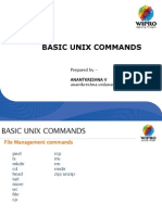 Simple Unix Commands