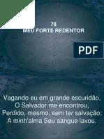 78 - Meu Forte Redentor