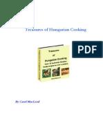 Treasures of Hungarian Cooking