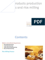 Bakery Products and Rice Milling