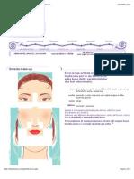 Bellezza  Donna  Makeup  Scheda Trucco Personalizzata
