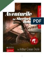 Arthur Conan Doyle - Aventurile Lui Sherlock Holmes Vol-1 PDF-docx