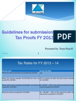 Income Tax Guidelines