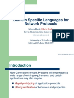 DSLs for Network Protocols