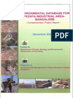 Environmental Database for Peenya Industrial Area Bangalore EMPRI 2008 12