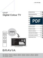 Sony_Digytal Colour TV