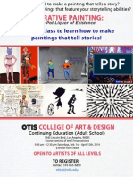 New Narrative Painting Class at Otis College of Art & Design