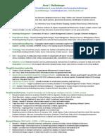 2013 AFS Analyst CV