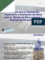 Agua y Desarrollo 2011 Mixteca