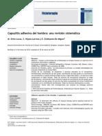 Capsulitis Adhesiva de Hombro Una Revision Sistematica
