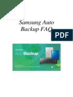 DUT_Samsung Auto Backup FAQ Ver 2.1