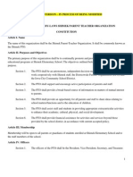 Current PTO Bylaws