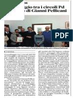 Gemellaggio dei circoli PD Chioggia e Mestre-Centro. Nel segno di Gianni Pellicani