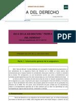 1-Guía de estudio de Teoría del Derecho 1º