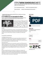 As 10 tendências em 2014 para projetos de software _ Ramon Durães