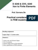 Fem Modeling