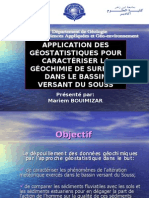 Application Des Geostatistique