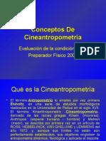 Conceptos De Antropometría