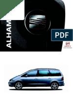 Seat Alhambra Users Manual
