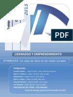 Liderazgo y Emprendimiento - Trabajo Final - 26122013