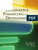 [E-book]Innovative Financing for Development - Some How