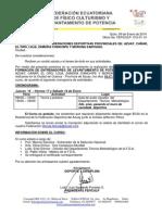 INVITACIÓN CURSO DE ENTRENADORES LEV. DE POTENCIA