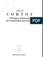 Alfred Cortot - Principes Rationnels de La Technique que