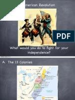Causes of American Revolution PDF