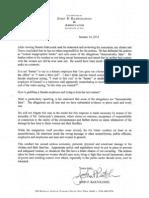 Bartolomei letter