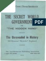 Cherep Spiridovich - the SECRET WORLD GOVERNMENT or the HIDDEN HAND