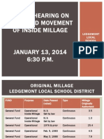 Ledgemont inside millage proposal