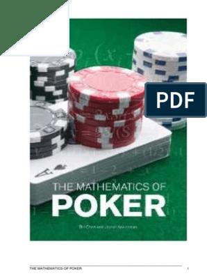 The Mathematics Of Poker Probability Game Theory
