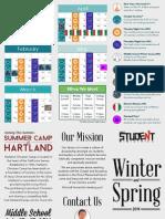 Winter and Spring 2014 Calendar