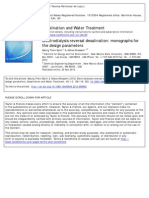 Electrodialysis Reversal Desalination Monographs for the Design Parameters 2012 Desalination and Water Treatment