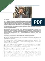 Caso Alcasser. Blanco, Juan Ignacio. Carta Al Diario _El Levante_, Censurada