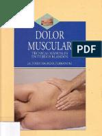 ( Masaje) - Dolor muscular. Técnicas manuales en tejidos blandos - J.Sagrera - libro 212 pgs.