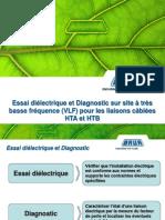 Maroc - Essais Et Diagnostic Cbles 0,1Hz - Rev 2010 Amended