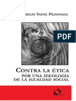 Aurelio Sainz-Contra La Etica