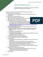 Alfresco One 4 2 Release Notes