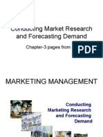 Marketing Research and Forecasting