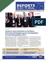 Reporte Electoral N° 78