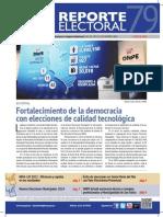 Reporte Electoral N° 79