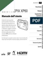 Manuale Fuji Xp60