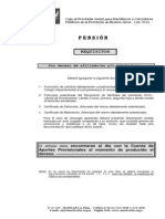 5 Requisitos PENSION